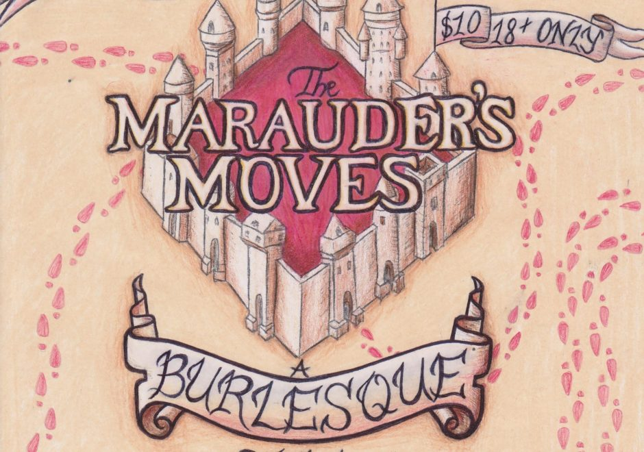 """The Marauder's Moves"" burlesque show takes the Albany Barn stage at 8 p.m. Saturday."