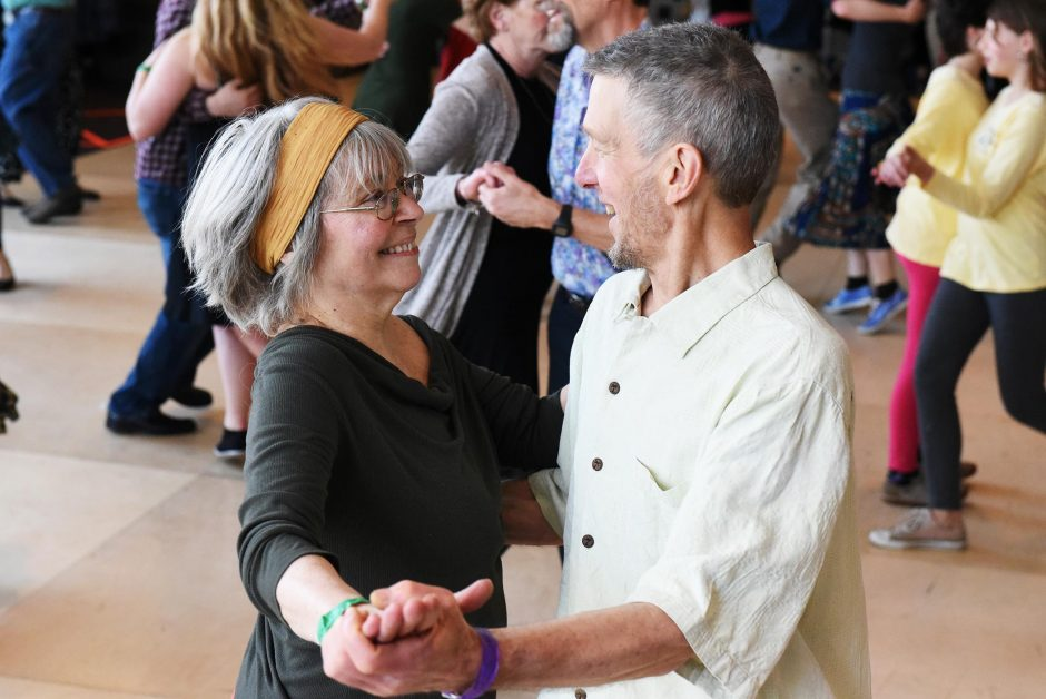 Attendees enjoy a dance during the 2018 Flurry Festival. This year's festival runs from Friday, Feb. 15 through Sunday, Feb. 17.