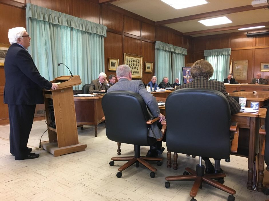 Gloversville resident Jerry Ryan asks the Fulton County Board of Supervisors to consider joining Continuum of Care program.