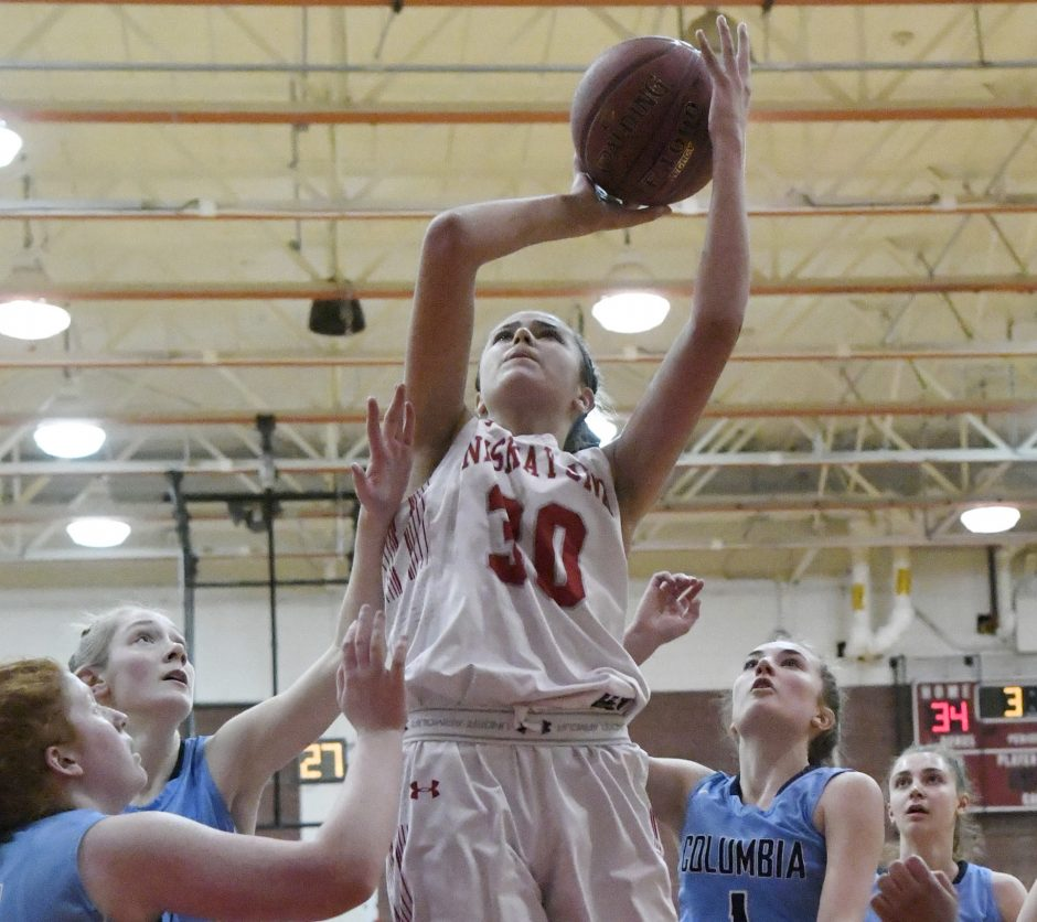 Olivia Olsen scored 29 points to lead Niskayuna past Columbia.