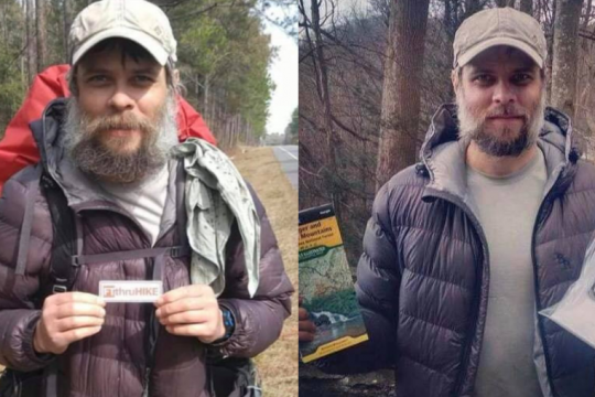 The unidentified hiker who went by the trailnames Denim and Mostly Harmless
