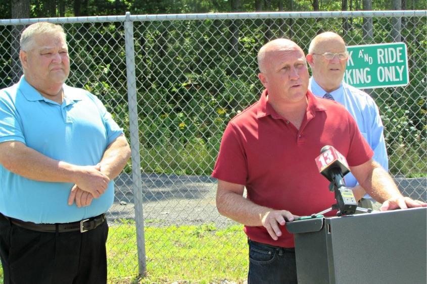 Milton Town Supervisor Scott Ostrander in 2017.