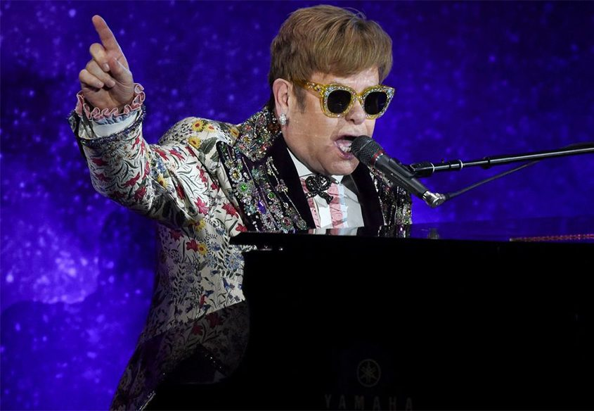 Elton John will perform Friday night at the Times Union Center on his farewell tour.