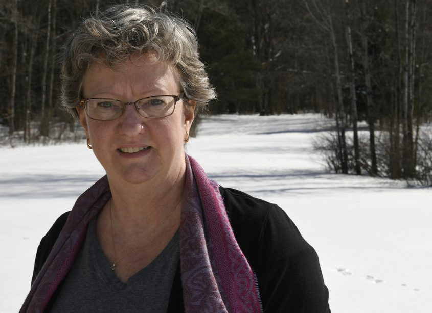 Annabel Felton is still waiting for broadband access at her home on Creek Road in Duanesburg.