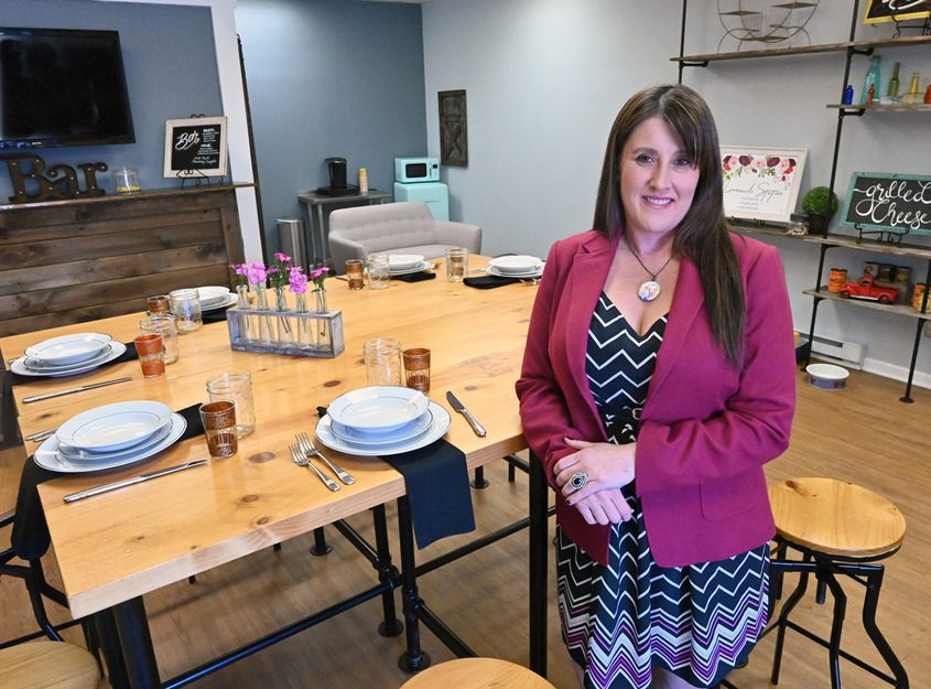 Owner Andrea Loguidice has renamed her catering business Rogue Hospitality.