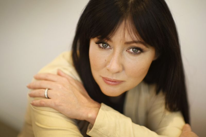 """Shannen Doherty co-starred with Luke Perry on """"Beverly Hills, 90210."""""""