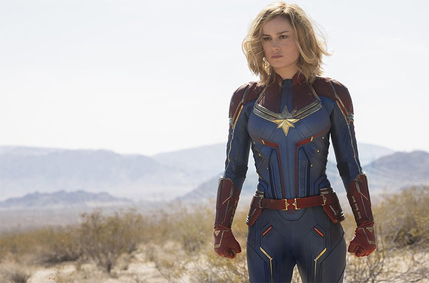 Brie Larson as Carol Dancers/Vers/Captain Marvel.