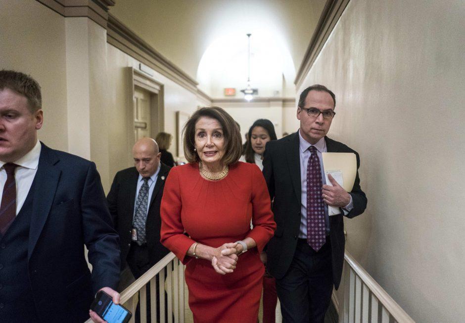 House Speaker Nancy Pelosi on Capitol Hill in Washington, D.C. on January 23, 2019.