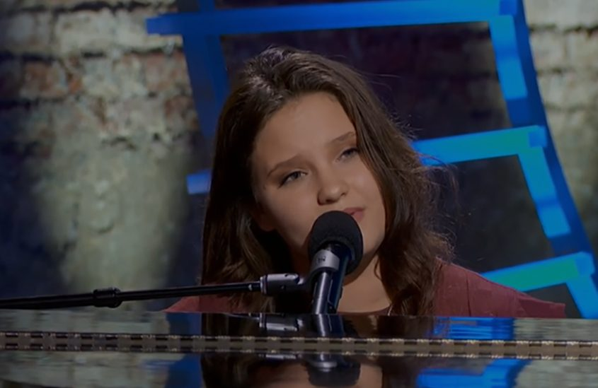 """Madison VanDenburgh of Cohoes performs """"Speechless"""" on """"American Idol."""""""