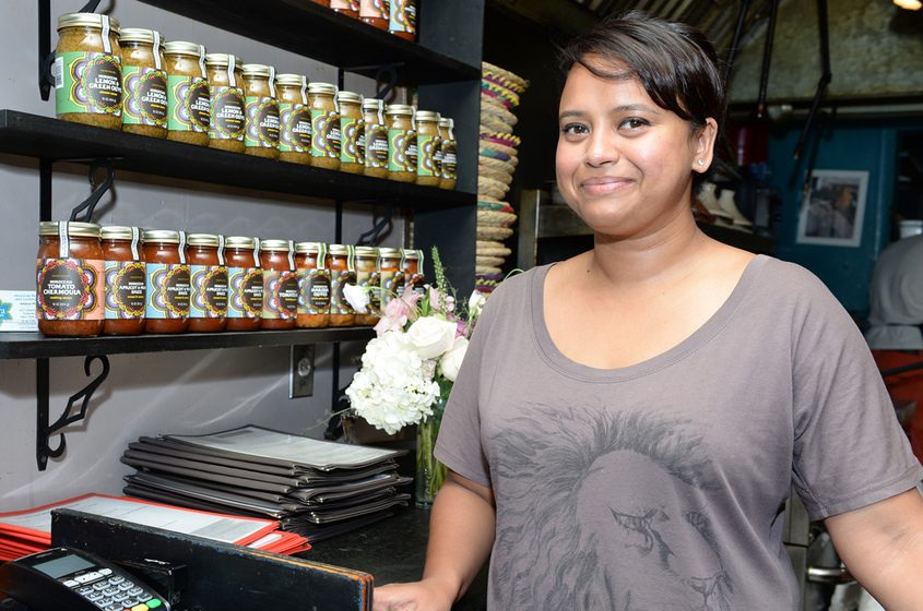Aneesa Waheed, owner of the Tara Kitchen at 431 Liberty St., is pictured in 2016.