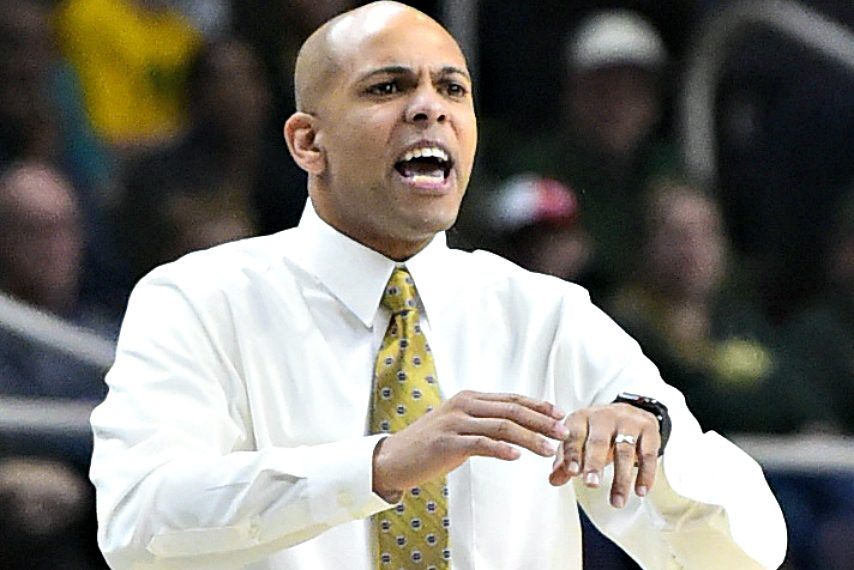 Jamion Christian was hired at Siena last May.