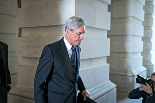 Robert Mueller, the former FBI director and special counsel who is leading the Russia investigation.