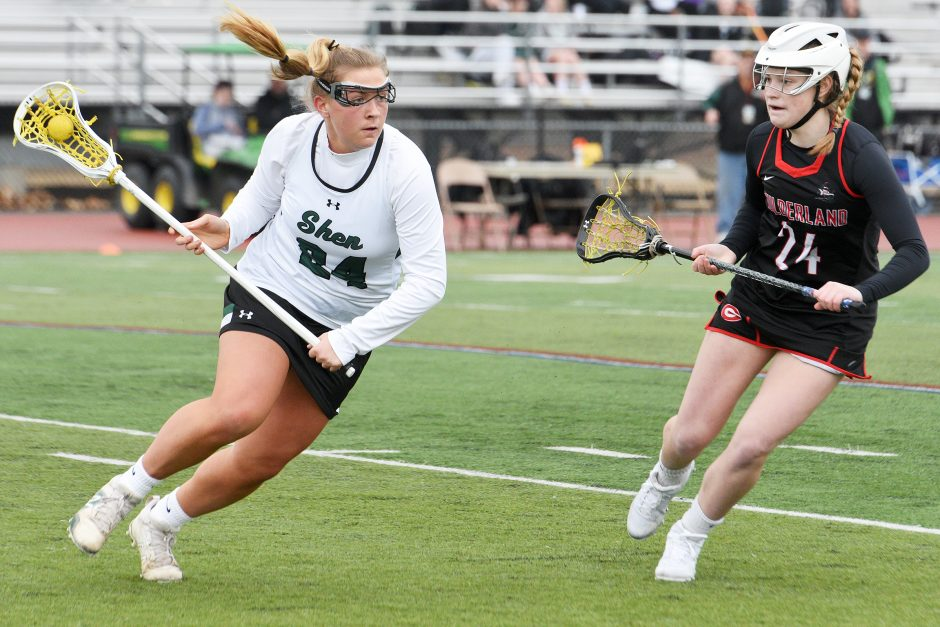 Shenendehowa beat Guilderland 15-7 in Suburban Council girls' lacrosse action Friday.