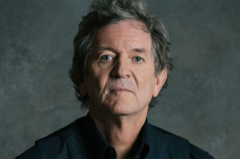 Rodney Crowell performs at the Cohoes Music Hall Friday night.