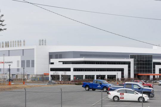 GlobalFoundries Fab 8 plant in Malta is shown Thursday, March 28, 2019.