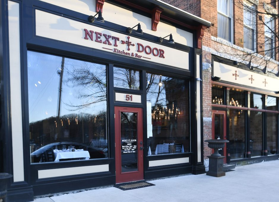 Next Door Kitchen & Bar on Front Street in Ballston Spa Tuesday, April 16, 2019.