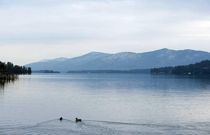 Lake George is threatened by outside environmental issues, including waste water runoff.