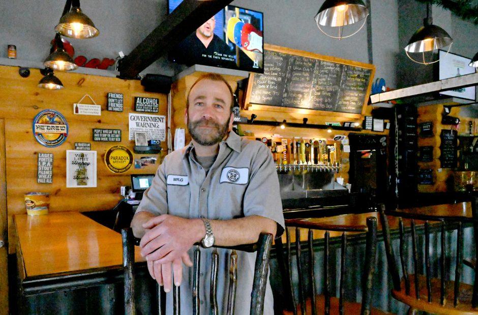 Grant Guttenberg, owner of Project 29 Pub & Filling Station.