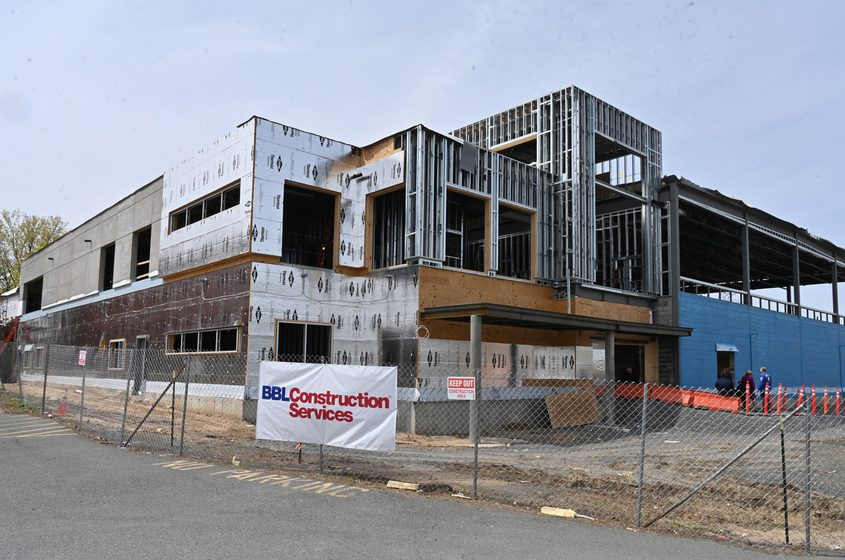 A Boys & Girls Club is going up on Education Drive, between Mont Pleasant Middle School and Quackenbush Park.