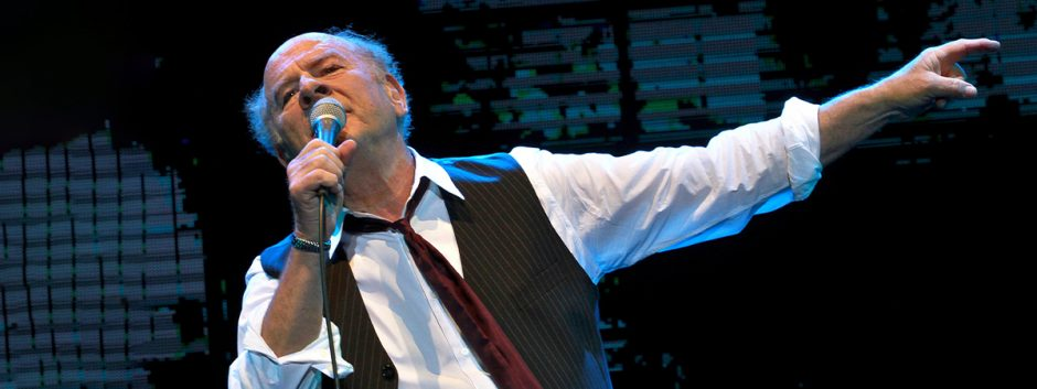 Art Garfunkel performed Friday night at the Troy Savings Bank Music Hall.