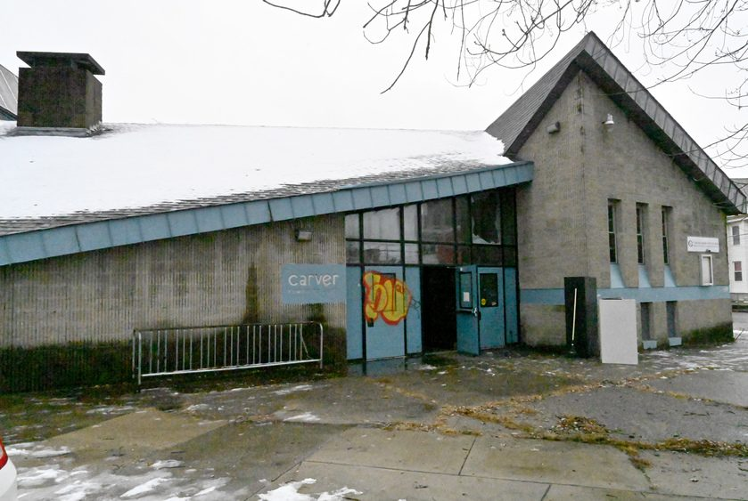 The Carver Community Center, 700 Craig St., in Schenectady is pictured.