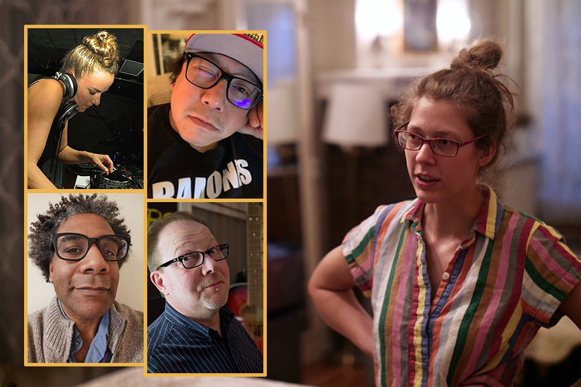 Katie Hammon, right, and clockwise from top left: Jennifer Coleman, Bobby Carlton, Andy Gregory and Bryan Thomas.