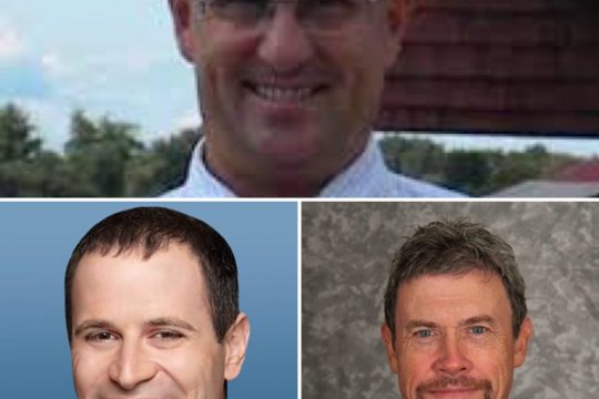 Mike MacAdam (top), Jon Morosi (left) and Kevin Paul Dupont join this week's Parting Schotts podcast.