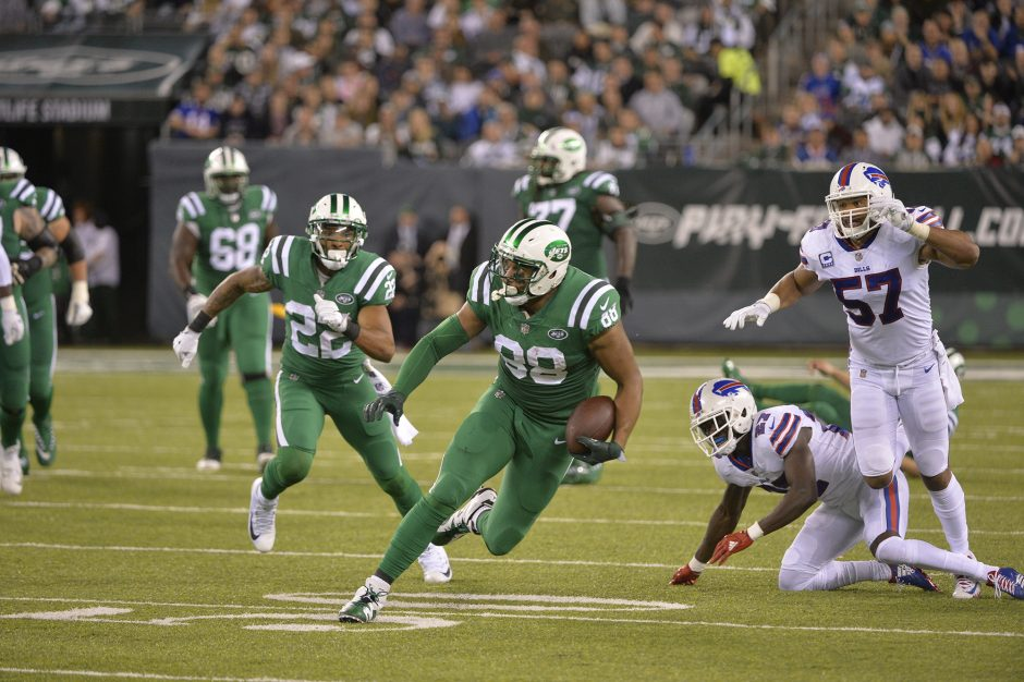New York Jets vs. Buffalo Bills in 2017.