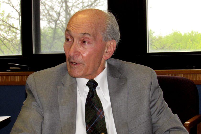 Dr. Michael Lozman discusses the proposed Jewish Holocaust Memorial Monday.
