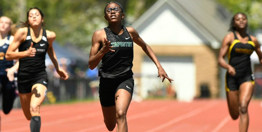 Tapestry Charter seventh-grader Jada Kenner tied an age-group world record in the 200 at the Eddy Meet.