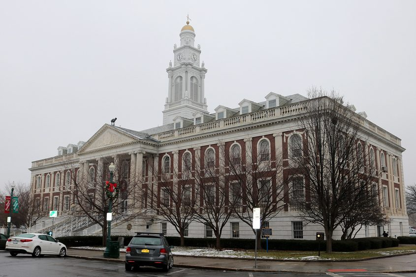 Schenectady City Hall is pictured.