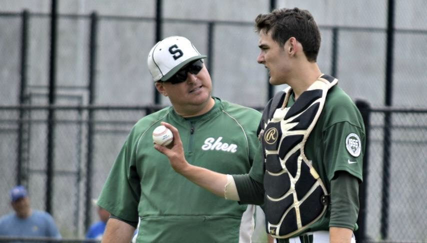 Shenendehowa graduate Ben Anderson, right, shown during the 2016 NYS Tournament, has been picked in the MLB Draft.