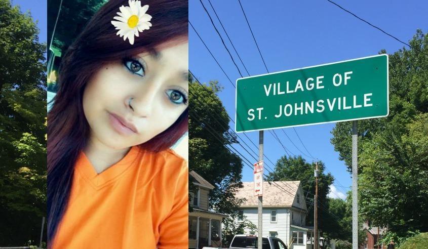 Michaela MacVilla (inset), St. Johnsville (background)