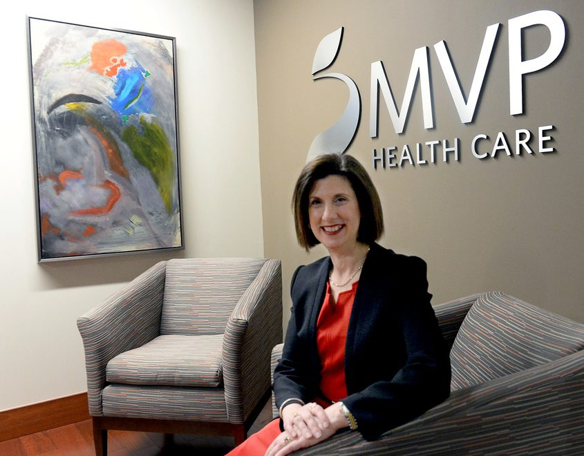 MVP Health Care CEO Denise Gonick is shown in February 2018.