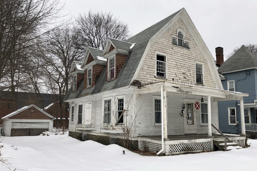 The house at 2 Cornelius Ave. in Niskayuna is shown in February.