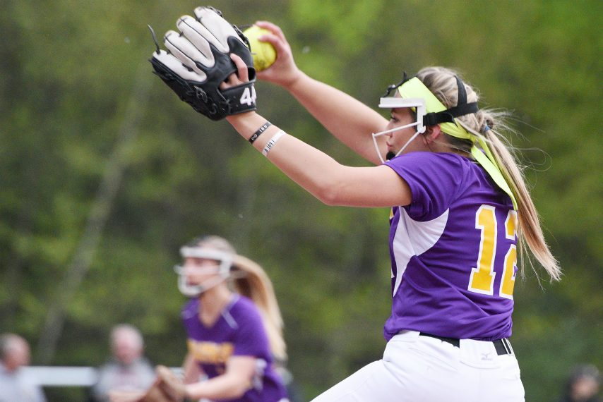 Ballston Spa junior Lauren Kersch limited Jamesville-DeWitt to three hits in a 5-1 state quarterfinal win.