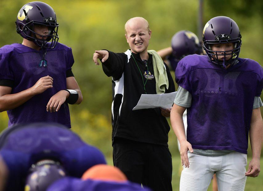 Coach Tyler Hall's Johnstown football team has a game scheduled Sept. 6 against Schuylerville.