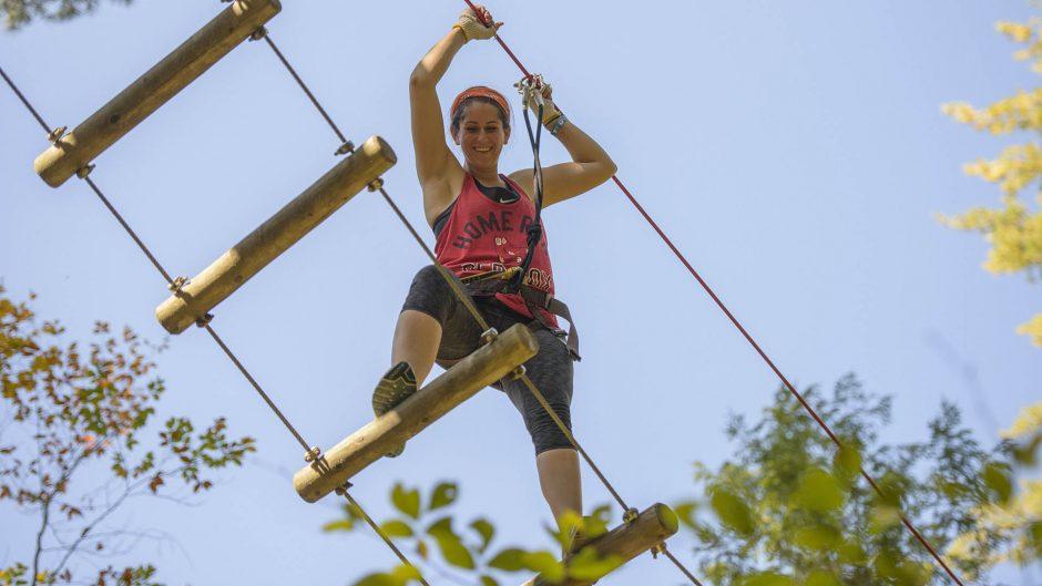 Adirondack Extreme Adventure Course in Bolton Landing.