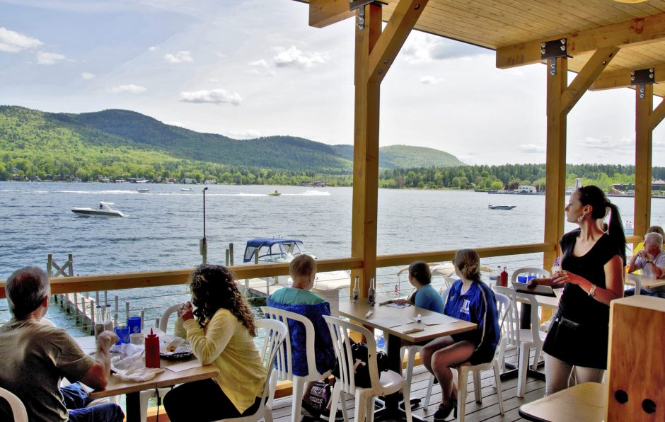The Boardwalk Restaurant in Lake George.