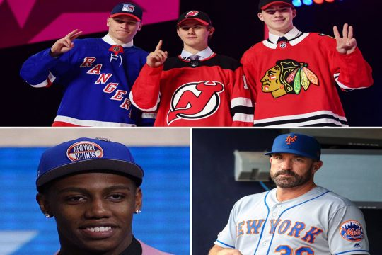 Talking NHL and NBA drafts and free agency and the dysfunctional Mets on The Parting Schotts Podcast.
