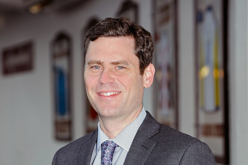 David O'Rourke is the new CEO and president of the New York Racing Association.