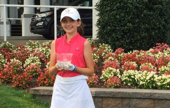 Nicole Criscone who will participate in AJGA event at Ballston Spa Country Club July 28-Aug. 1.