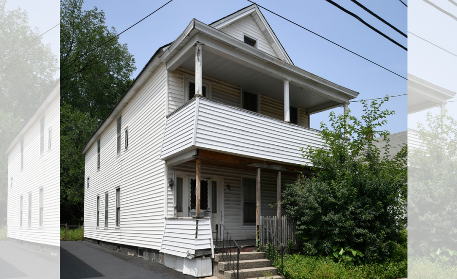This house at 1227 Sixth Ave. is one of those set for demolition