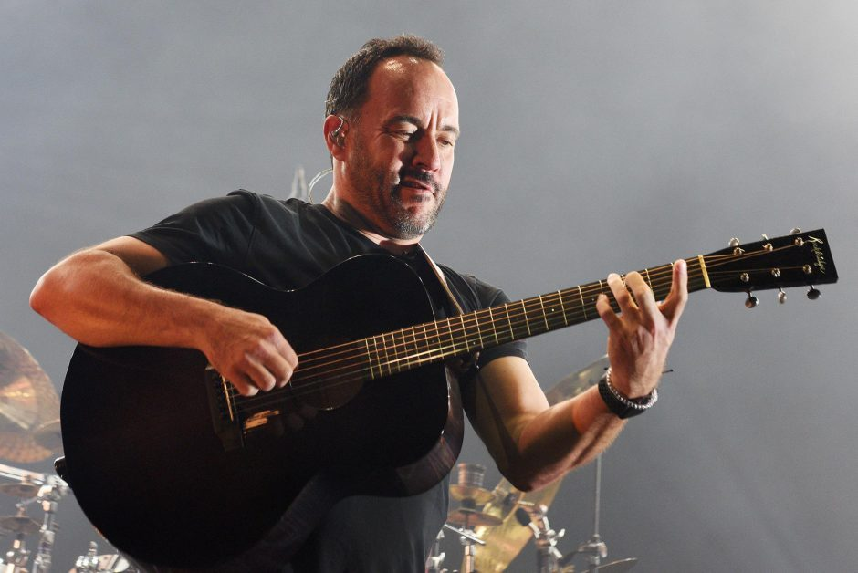 Dave Matthews performs with his band Friday night at SPAC.