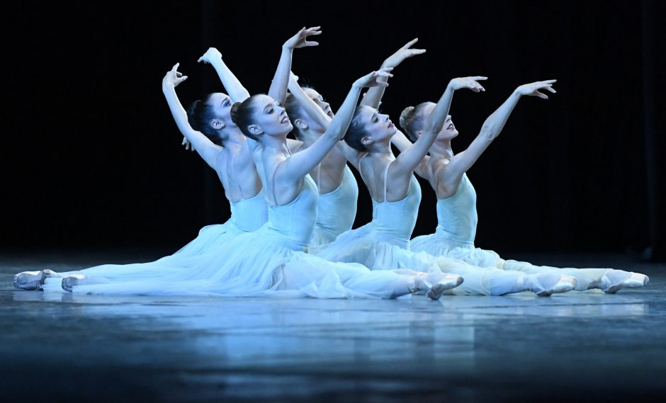The New York City Ballet performs Tuesday night at Saratoga Performing Arts Center.