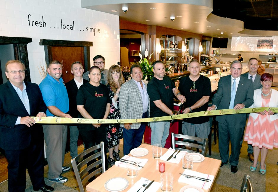 Grano held a ribbon-cutting earlier this week in downtown Schenectady.