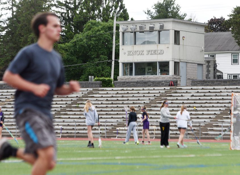 Johnstown schools' fundraising efforts are proving successful enough to move ahead with plans for student athletics this year.