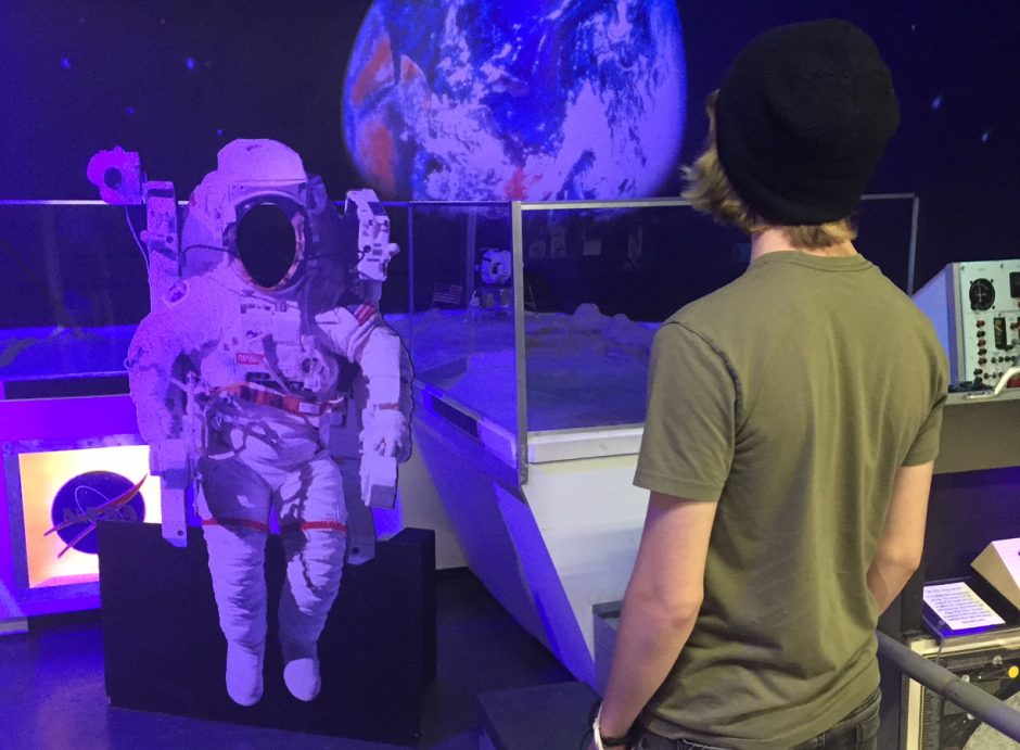 An exhibit on the moon landing will be part of the ESAM anniversary festivities.
