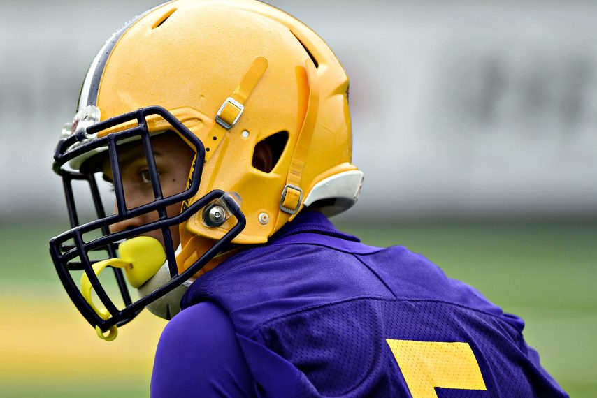 Dev Holmes and UAlbany football start their training camp Wednesday.