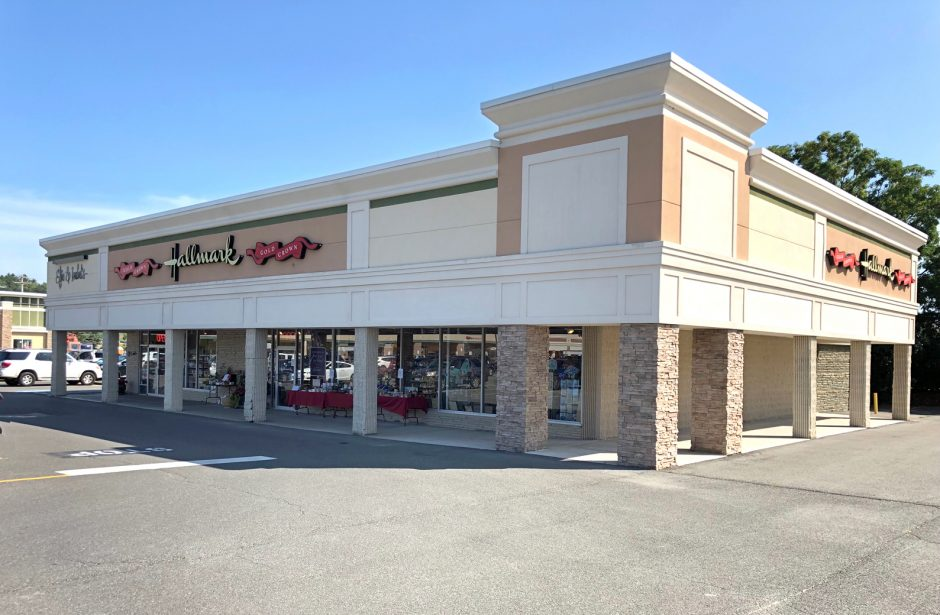 Scott's Hallmark Shop located in the Hannaford Plaza in Glenville is the proposed site for Starbucks.